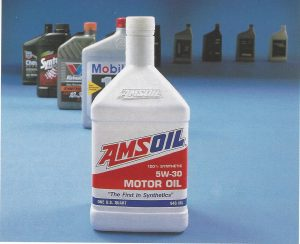 Picture of AMSOIL 5W30 Motor Oil Bottle - 1994