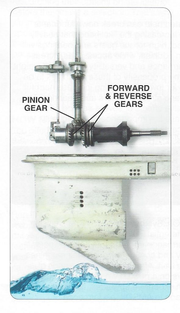 Simplified Exploded view of Marine Lower Unit
