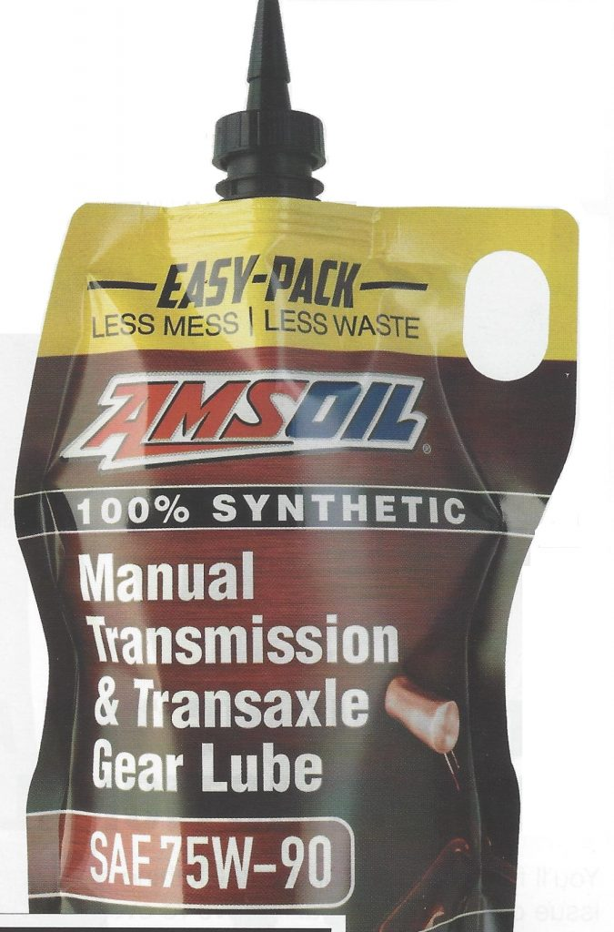AMSOIL Synthetic Manual Transmission & Transaxle 75W-90 Gear Lube
