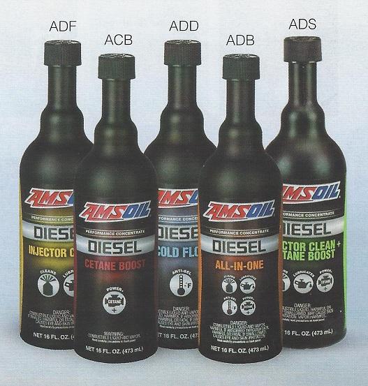 AMSOIL Diesel Fuel Additives