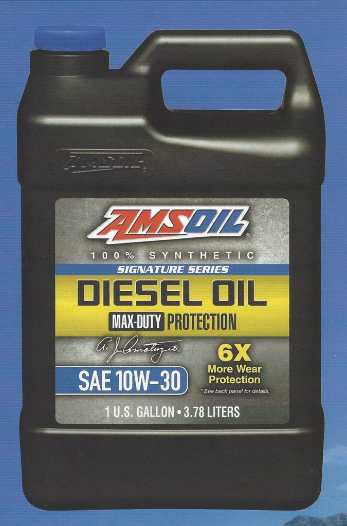 1 Gallon Jug of AMSOIL Signature Series Max Duty Synthetic 10W-30 Diesel Oil