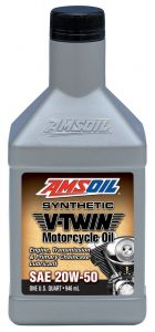 AMSOIL MCV Synthetic 20w50 V-Twin Motorcycle Oil
