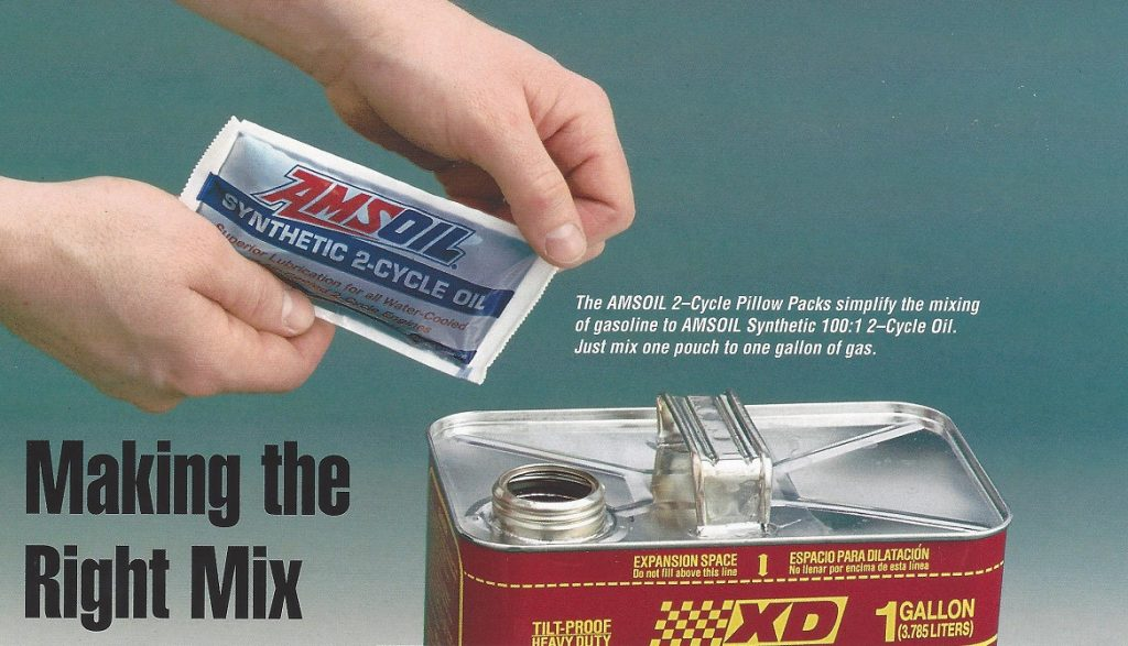 Image showing the AMSOIL 2-Cycle 100:1 Pillow Pack