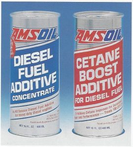 AMSOIL Diesel Fuel Additive packaging 1994