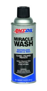 AMSOIL Miracle Wash is available in 13 oz Spray Cans