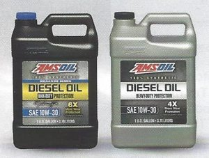 AMSOIL Signature Series Max Duty 10w30 Synthetic Diesel Oil (DTT) and AMSOIL Heavy Duty 10w30 Synthetic Diesel Oil (ADN)