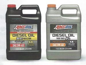 AMSOIL Signature Series Max Duty 5w40 Synthetic Diesel Oil (DEO) And AMSOIL Heavy Duty 5w40 Synthetic Diesel Oil (ADO)