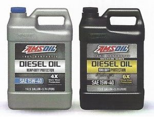 AMSOIL Signature Series Max Duty 15w40 Synthetic Diesel Oil (DME) And AMSOIL Heavy Duty 15w40 Synthetic Diesel Oil (ADP)