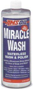 AMSOIL Miracle Wash Waterless Wash & Polish - Quart Bottle