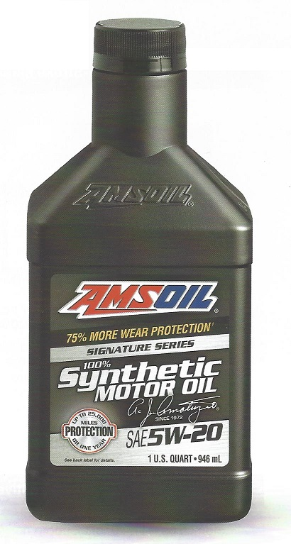 AMSOIL Signature Series SAE 5w20 Synthetic Motor Oil